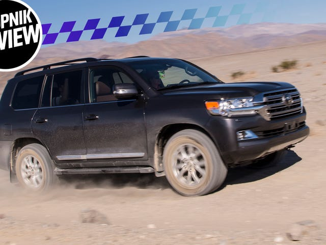 The 2018 Toyota Land Cruiser Bends The World To Its Will