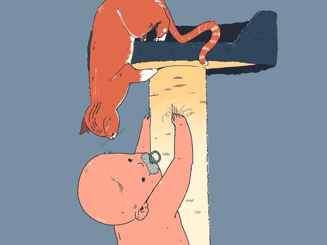 Kuinka leikata vauvan kynsiä?