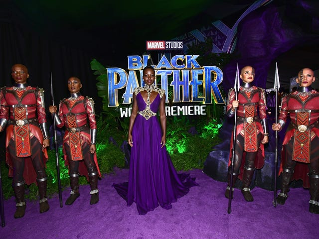The Blackest Red Carpet Ever: Black Panther Premiered Last Night, and We Were Not Ready