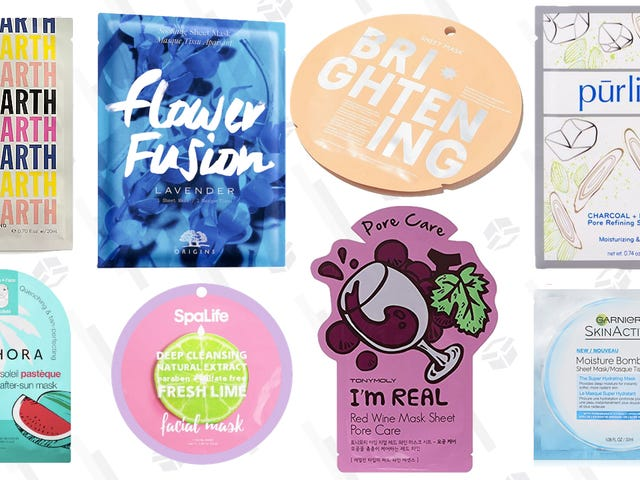 Under $10 Sheet Masks For Every Skin Issue