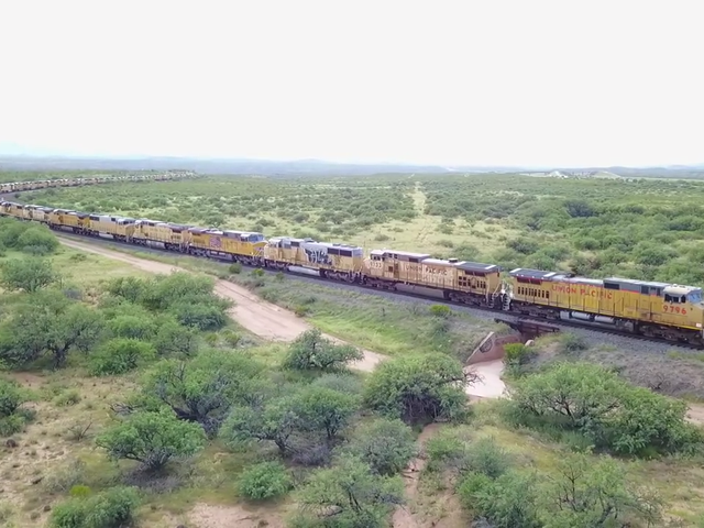 Three Miles Of Unused Locomotives Is Undeniably Haunting