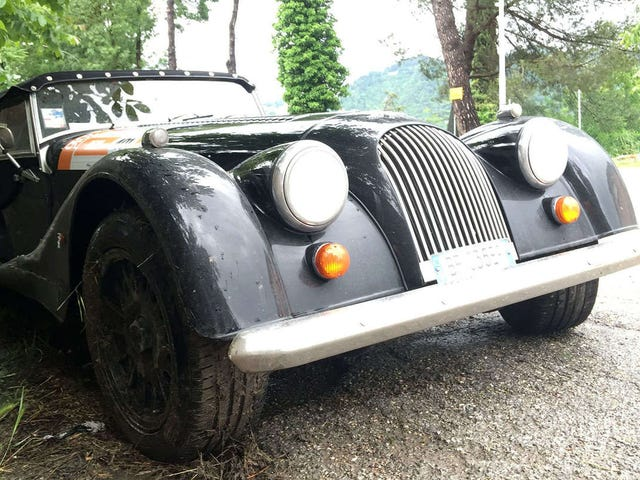 How to Crash the World's Most Dangerous Rental Car on the Mille Miglia