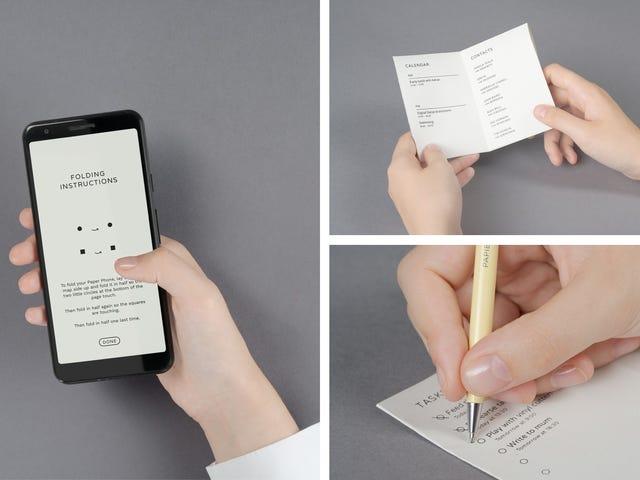 """Googles senaste experiment är en """"telefon"""" som skrivs ut"""