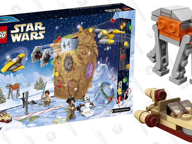 Naughty or Nice? Jedi Or Sith? LEGO's Star Wars Advent Calendar Is A Wonderful Gift.
