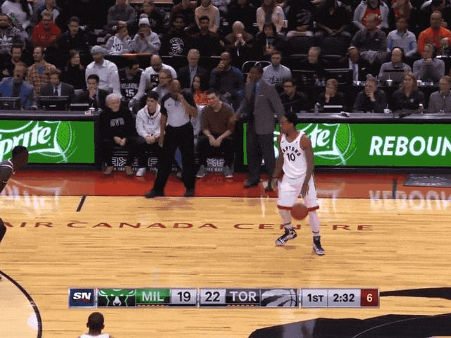 Oh Shit, DeMar DeRozan Might Be Able To Shoot Threes Now