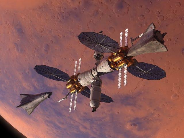 Η Lockheed Martin τρέχει σε μια βασική πίστα της Marte y la nave que llevará astronautas a la superficie