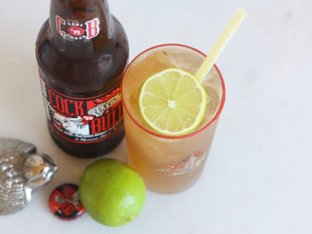 This Dark and Stormy Week Calls for a Dark 'n' Stormy Cocktail