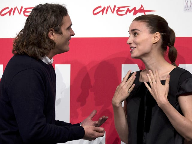 Rooney Mara and Joaquin Phoenix Are in Love and Even Have the Same Taste in Marriage ('Too Mainstream')