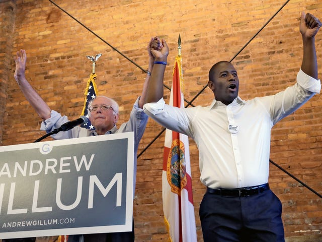 In an Upset, Andrew Gillum Wins Democratic Nomination for Florida Governor's Race
