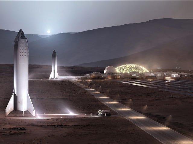 Elon Musk pone fecha a la construcción de su colonia en Marte: 2028