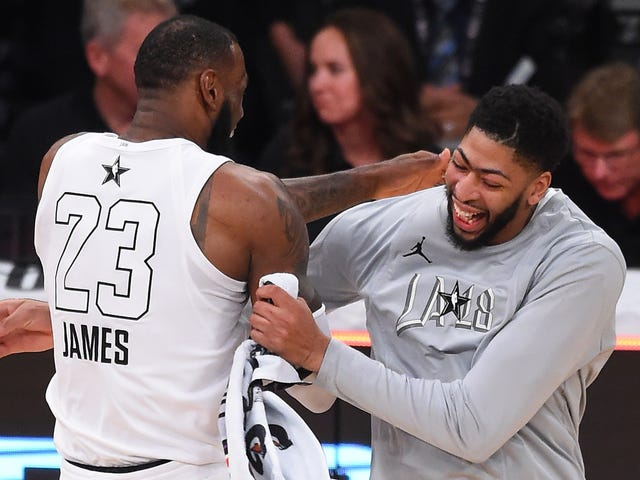 ESPN Eats Its Own Tail Over The Faint Idea Of LeBron James And Anthony Davis Together