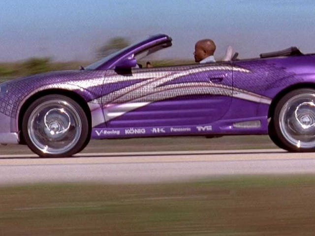 The Mitsubishi Eclipse Spyder From 2 Fast 2 Furious Has A Fascinating Origin Story