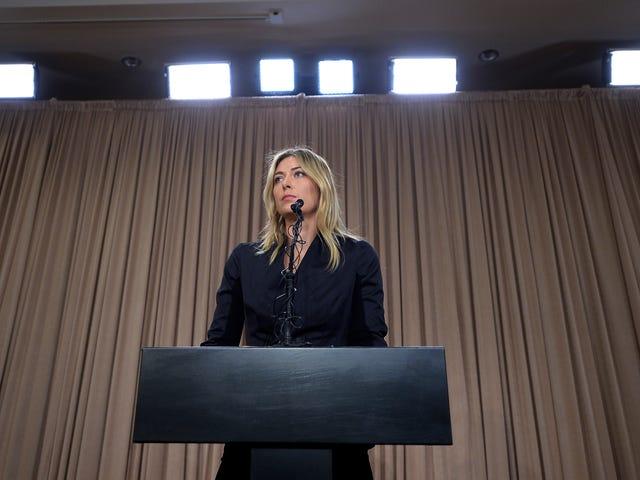 Maria Sharapova Tuntutan Dia Tidak Klik Pautan Itu Akan Mengatakan Dadahnya Diharamkan