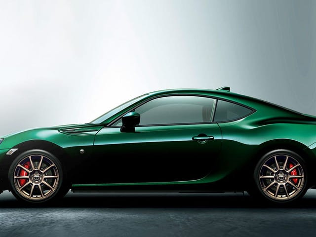 I Am Extremely Here for this British Racing Green Toyota 86 Limited Edition