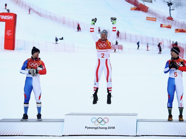 Marcel Hirscher Is Finally, Finally, An Olympic Champion