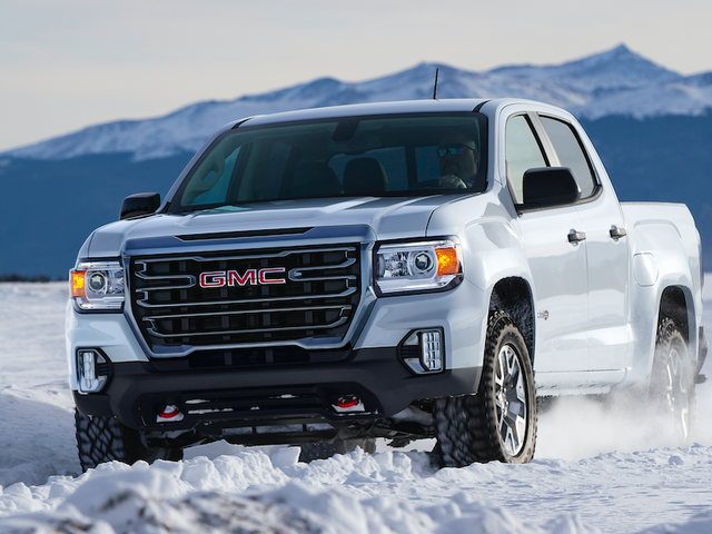 The 2021 GMC Canyon Gets A New AT4 Off-Road Trim And The Big-Ass Grille From The Sierra
