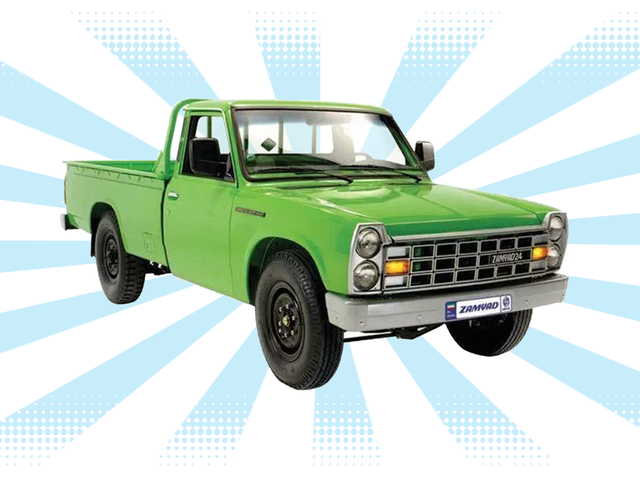 The Coolest New Pickup Truck You Can Buy Is Iranian