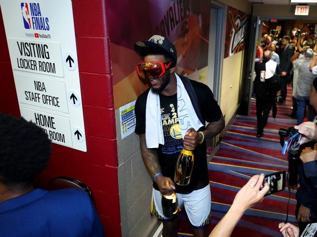Jordan Bell Might Be The Drunkest Golden State Warrior
