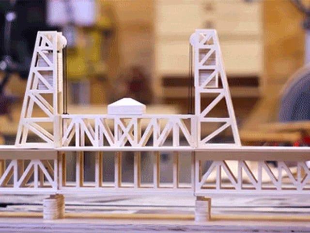 Цей дивовижно прохолодний Модельний міст був зроблений третього грейдера