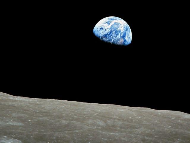 Parece que encontrado la roca más antigua conocida de la Tierra.  Estaba en la Luna
