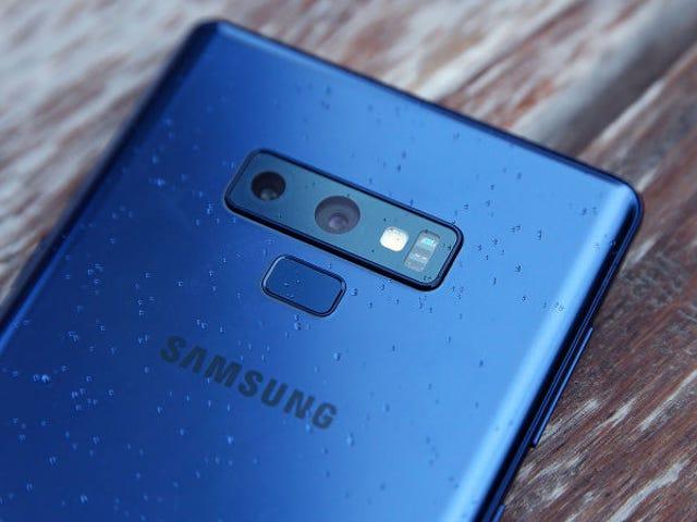 La primera foto sebenar dari Samsung Galaxy S10 menghidupkan semula dengan pantulan dan bordir