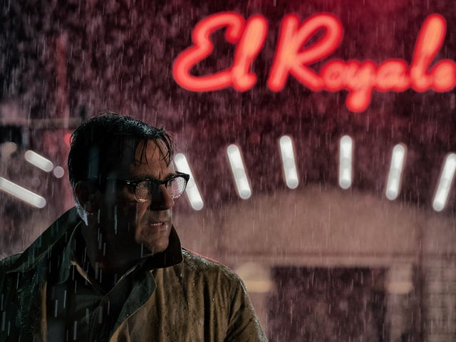 """Drew Goddard turns his dial to""""noir""""in the twisty crime thrillerBad Times At The El Royale"""