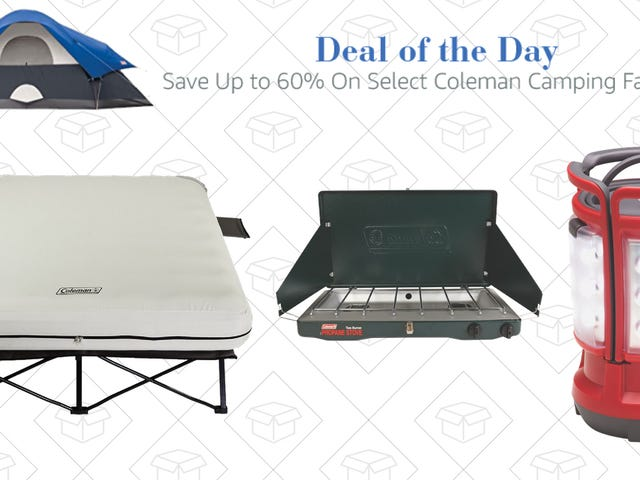 You'll Camp Better With This Coleman Gold Box
