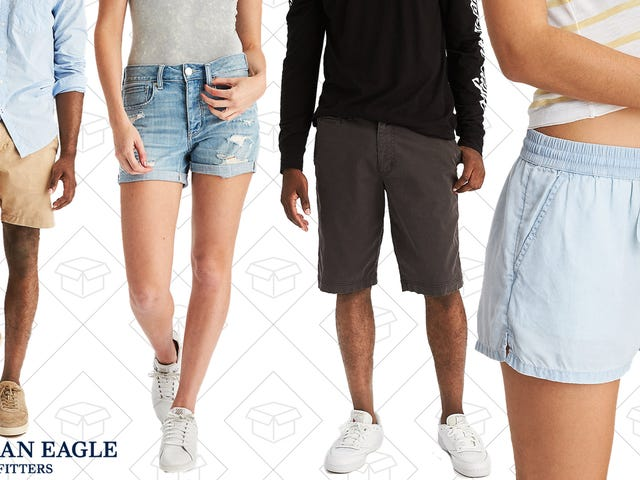 Show Some Skin With $25 Shorts From American Eagle