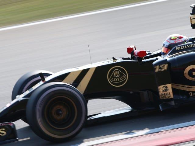 Maldonado vs. Button oli Kiinan suurpalkinnon todellinen taistelu