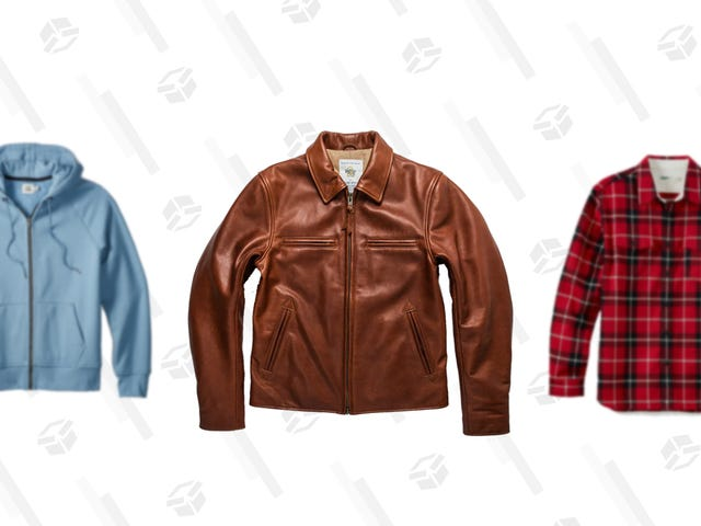 Shop Huckberry's Spring Outerwear Sale for Hoodies, Flannels, and Jackets Up to 60% Off
