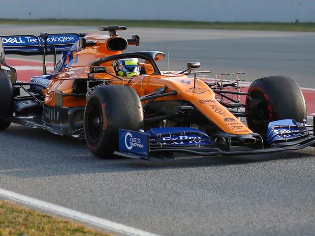 Temporada de Fórmula 1 da McLaren já está em chamas