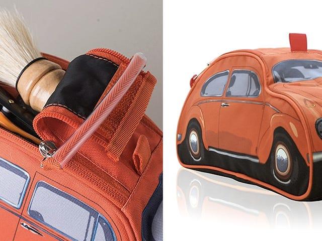 हिप्पियों के लिए एक VW बीटल टॉयलेटरीज़ मामला जो साफ रहना पसंद करता है