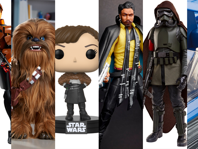 All the Solo: A Star Wars Story Toys Available at Midnight Tonight