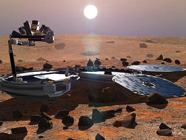 Останки отсутствующего Ландера Британии, возможно, были замечены на Марсе