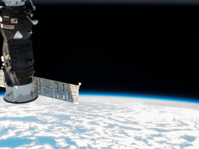 Russian Cargo Ship Reaches Space Station in Record Time