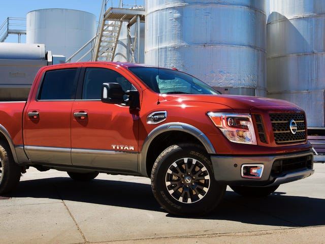 New Nissan Titan Crew Cab Starts At $34,780 If You Don't Need A Diesel