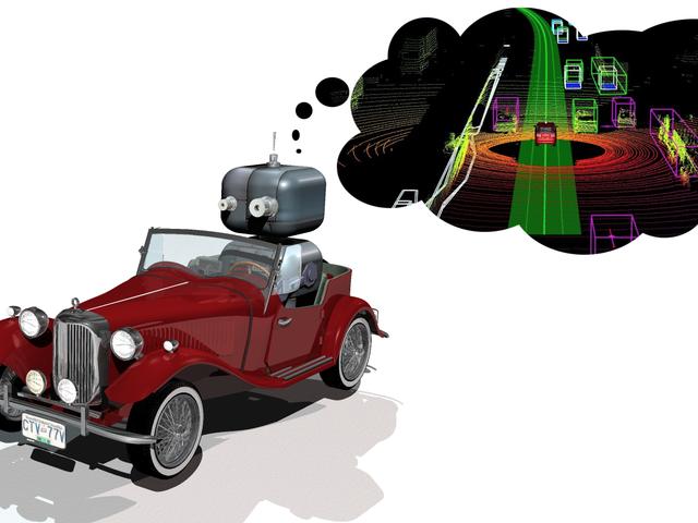 How Autonomous Cars See The World
