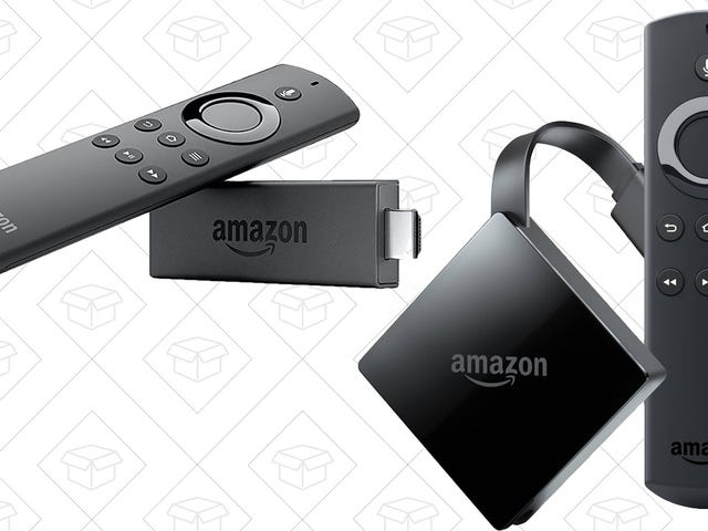 Save $20 On Amazon's Fire TV, or $10 on the Fire TV Stick, For a Limited Time