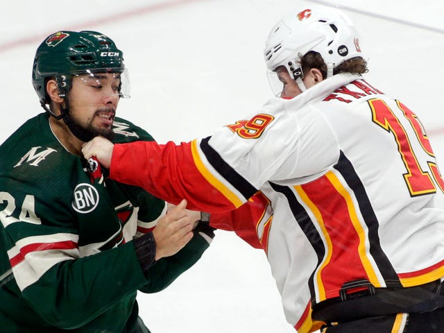 Matt Dumba Might Be Out For The Year Because He Threw A Bad Punch