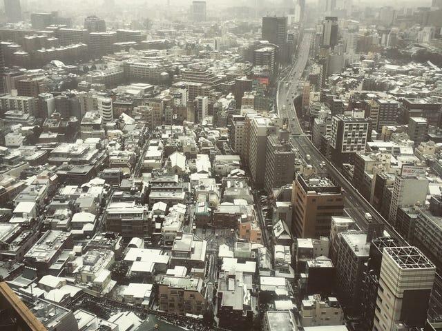 Snow Covered Sprawl