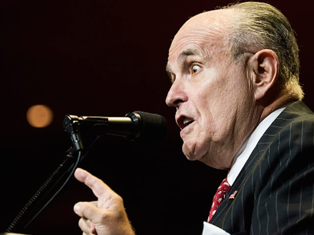 Rudy Giuliani Concerned About Dead People Voting for Hillary Clinton