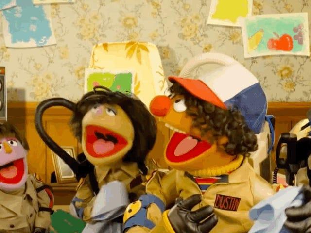 <i>Sesame Street</i> των <i>Stranger Things</i> είναι καλύτερη από το πρωτότυπο