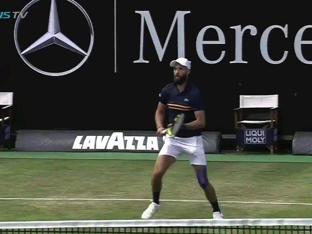 Gör Tennis Trick Shots värt två poäng