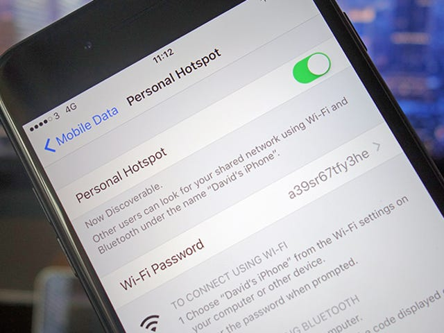 How to Not Waste Data When Using Your Phone as a Hotspot