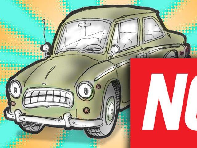 Mười câu chuyện về xe hơi mà họ đã nói là quá ngu ngốc để viết