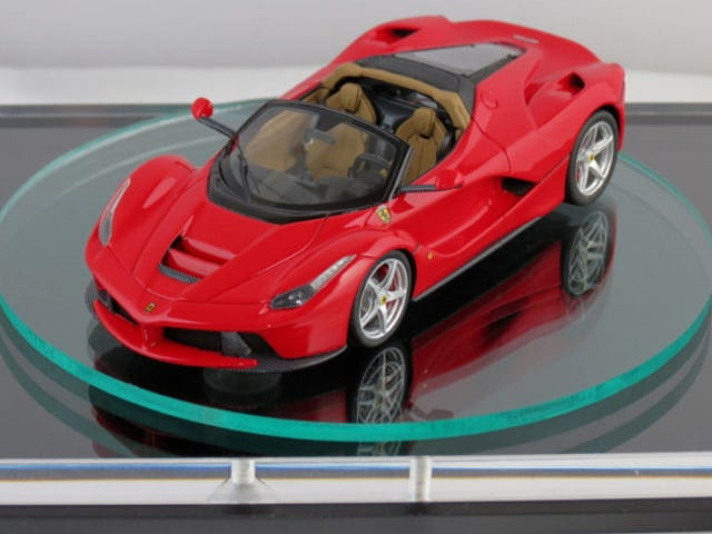 LaFerrari Spider LEAKED in diecast form