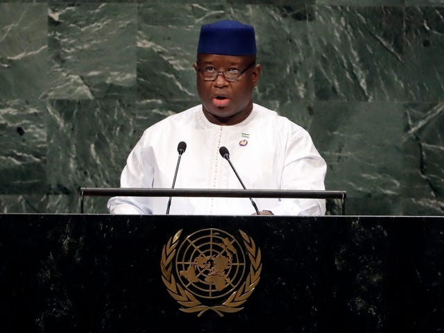 Rape Declared a 'National Emergency' by Sierra Leone's President