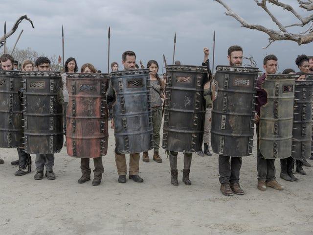 El estreno de la Temporada 10 de The Walking Dead estaba fuera de este mundo
