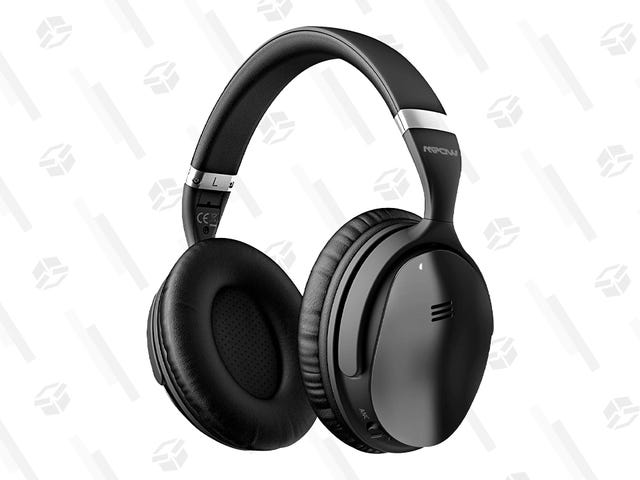 No, You're Not Hearing Things...These Noise Canceling Headphones Are Just $35