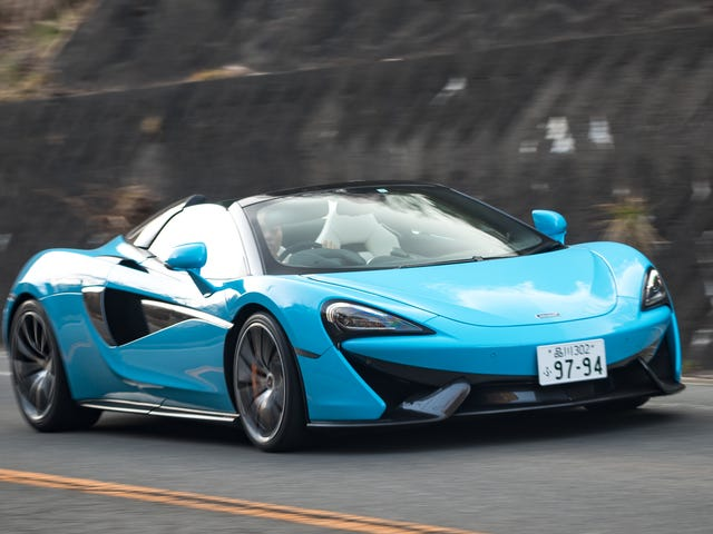 A Search For Japan's Best Driving Roads In A 562 HP McLaren Led Straight To Nirvana